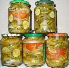 Салат из огурцов на зиму. различные варианты.