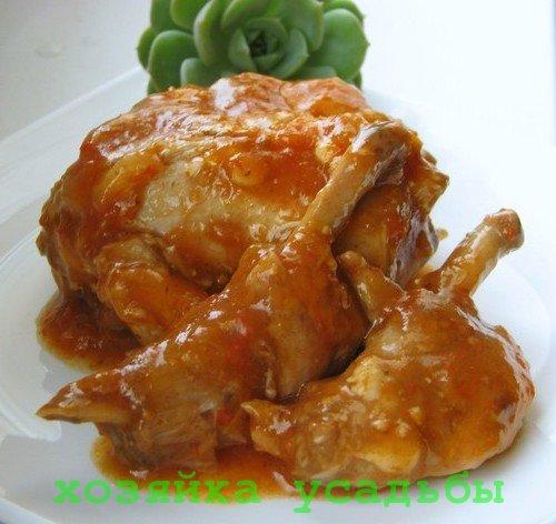 Блюда из мяса домашнего кролика.