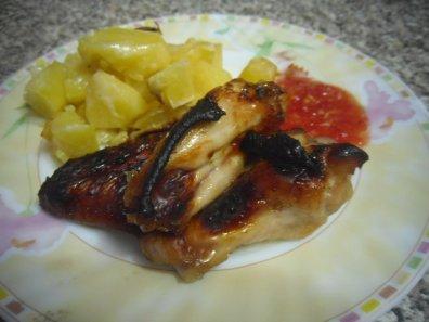 Как вкусно приготовить крылышки в духовке.