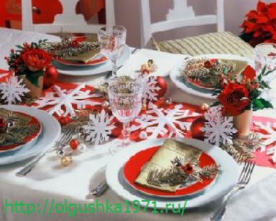 Салаты и закуски к праздничному столу