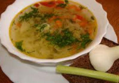 Рецепт кислых щей с квашеной капустой.