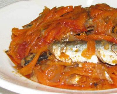 Салат на зиму с рыбой - рецепты от повара