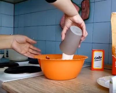Манник рецепт на кефире пошаговый рецепт с фото в духовке