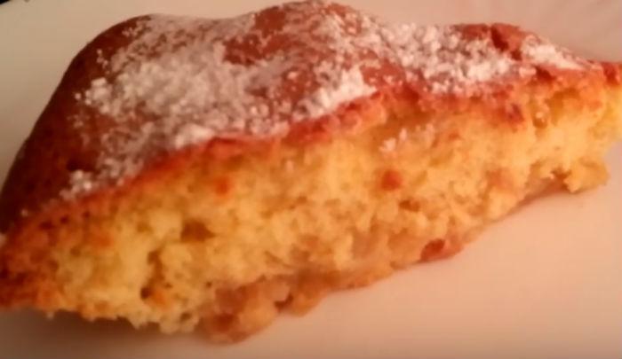 Пирог с яблоками - рецепты на быструю руку, лучшее