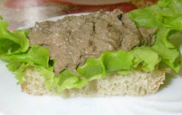 паштет из куриной печени со сливками рецепт с фото