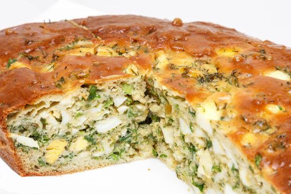 Пирог с капустой в микроволновке