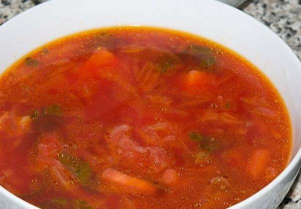 Вкусный борщ из квашеной капусты рецепт пошаговый из говядины