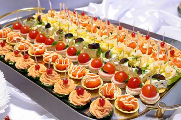 бутерброды с красной рыбой на праздничный стол рецепты