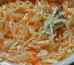 Как приготовить быструю капусту с уксусом, с морковью, в банках, под маринадом