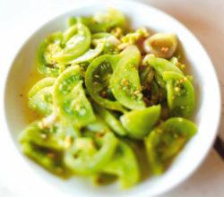 Зелёные помидоры по-корейски - самые вкусные рецепты с фото, пошагово