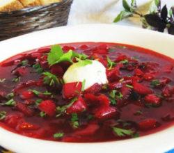 Борщ со свеклой и капустой, рецепты классического, русского, украинского